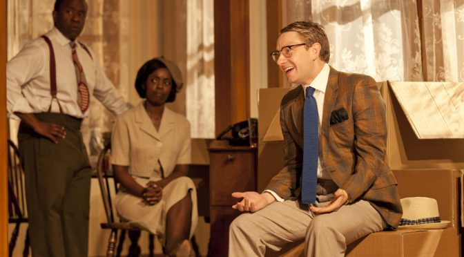"""""""Clybourne Park"""" at the Royal Court"""