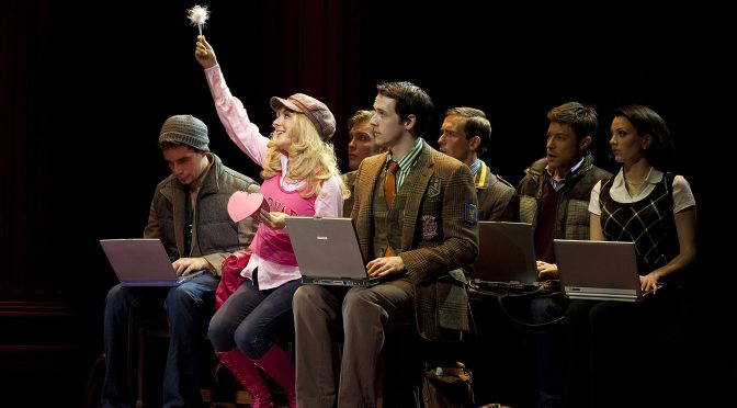 """""""Legally Blonde"""" at the Savoy Theatre"""