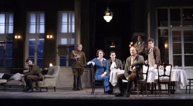 """""""The White Guard"""" at the National Theatre"""