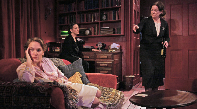 """Mrs Klein"" at the Almeida Theatre"