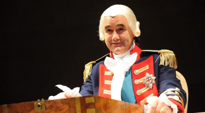 """""""The Madness of George III"""" at the Apollo Theatre"""