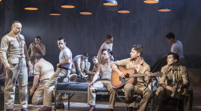 """From Here To Eternity"" at the Shaftesbury Theatre"