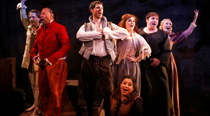 """""""The Glorious Ones"""" at the Landor Theatre"""