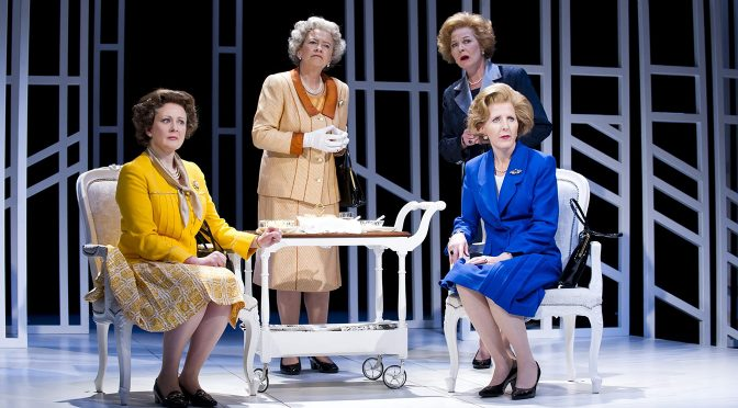 """Handbagged"" at the Vaudeville Theatre"