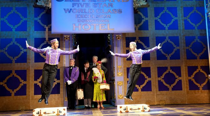 """""""Lend Me A Tenor: The Musical"""" at the Gielgud Theatre"""
