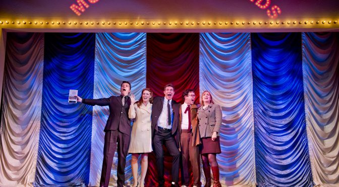 """""""Merrily We Roll Along"""" at the Harold Pinter Theatre"""