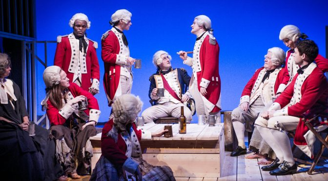 """""""Our Country's Good"""" at the St James Theatre"""