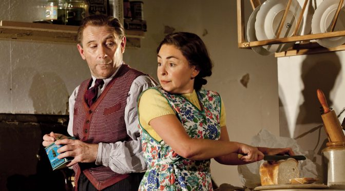 """""""Chicken Soup with Barley"""" at the Royal Court Theatre"""