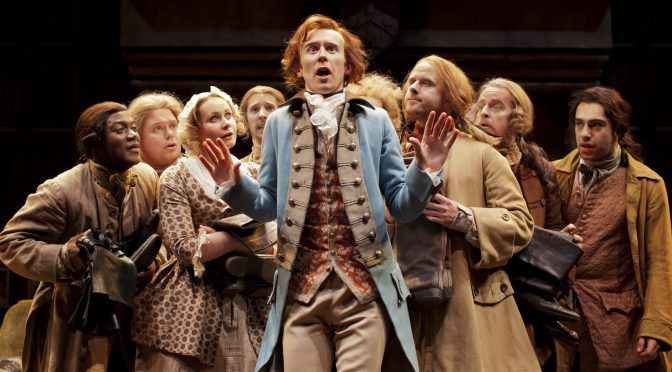 """""""She stoops to conquer' at the National Theatre"""