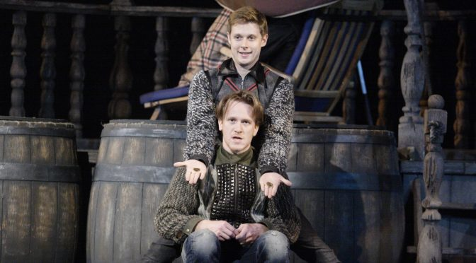 """Rosencrantz And Guildenstern Are Dead"" at the Theatre Royal Haymarket"