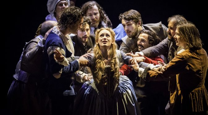 """Shakespeare in Love"" at the Noël Coward Theatre"