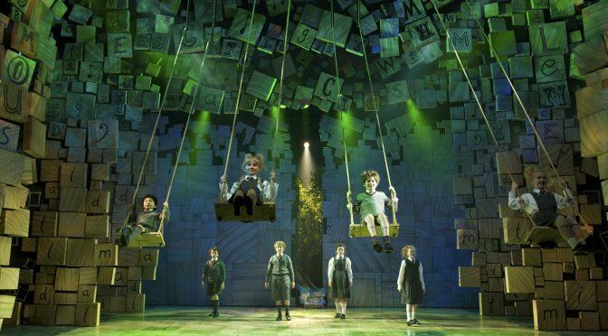 """""""Matilda"""" at the Cambridge Theatre"""