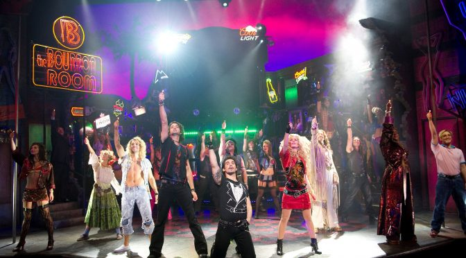 """""""Rock of Ages"""" at the Shaftesbury Theatre"""