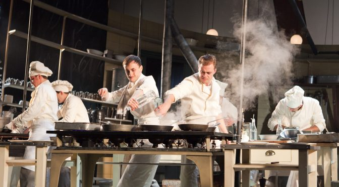 """""""The Kitchen"""" at the National Theatre"""