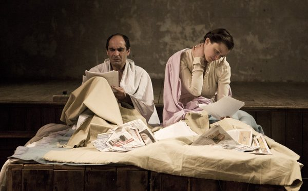 """""""Into thy hands"""" at Wilton's Music Hall"""