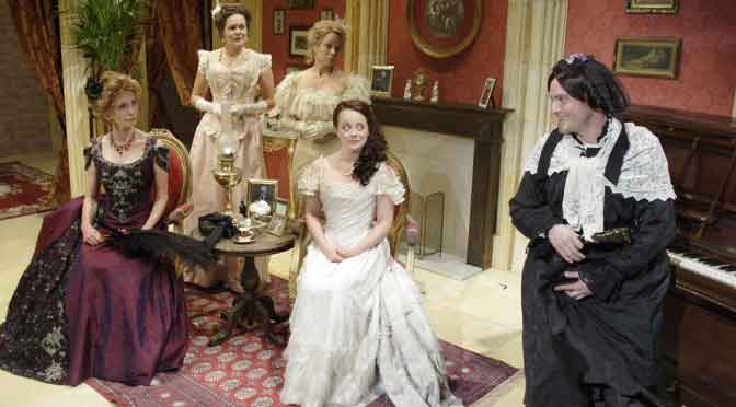 """""""Charley's Aunt"""" at the Menier Chocolate Factory"""