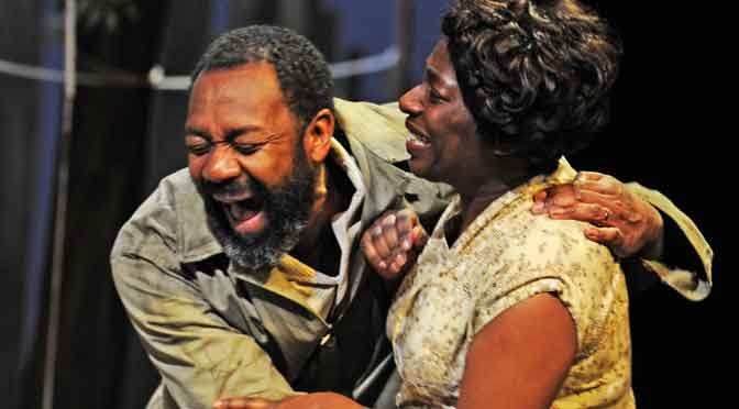 """""""Fences"""" at the Duchess Theatre"""