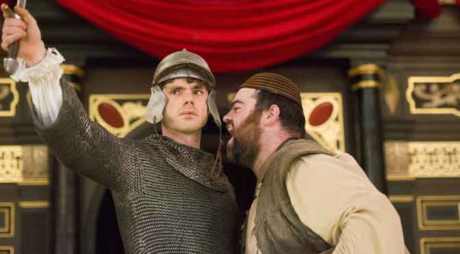 """""""The Knight of the Burning Pestle"""" at the Sam Wanamaker Playhouse"""
