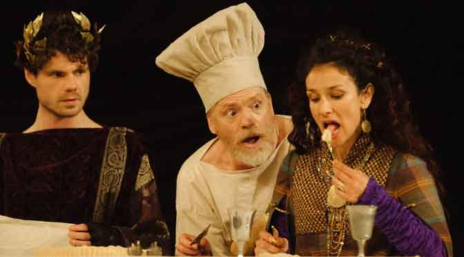 """""""Titus Andronicus"""" at Shakespeare's Globe"""
