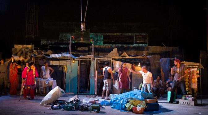 """Behind The Beautiful Forevers"" at the National Theatre"