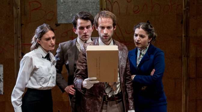 """""""The Angry Brigade"""" at the Bush Theatre"""