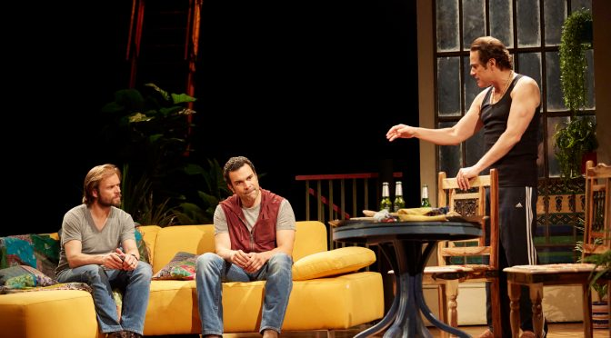 """""""The Motherf**cker In The Hat"""" at the National Theatre"""