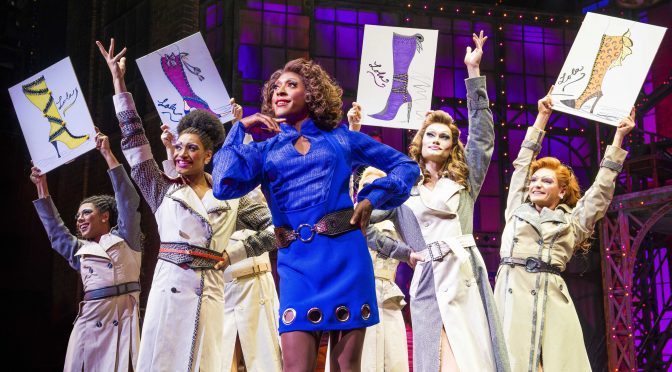 """""""Kinky Boots"""" at the Adelphi Theatre"""