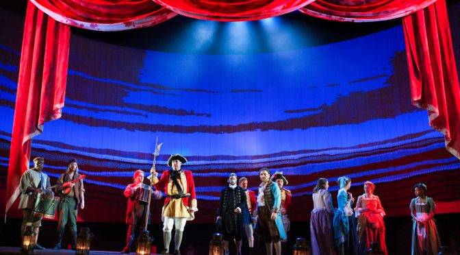"""""""Our Country's Good"""" at the National Theatre"""
