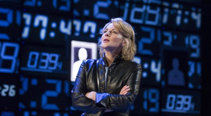 """Hapgood"" at the Hampstead Theatre"