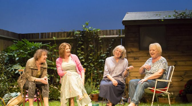 """Escaped Alone"" at the Royal Court"