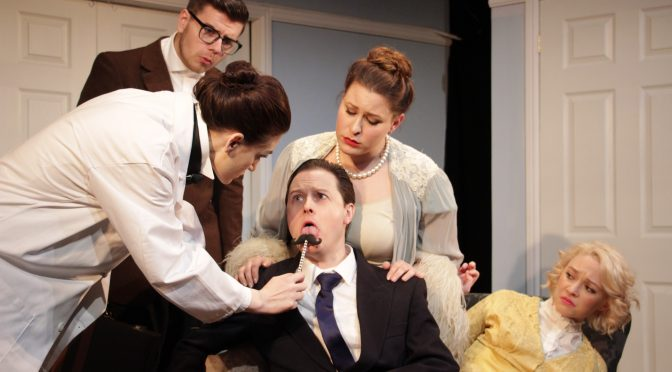 """""""A Flea In Her Ear"""" at the Tabard Theatre"""