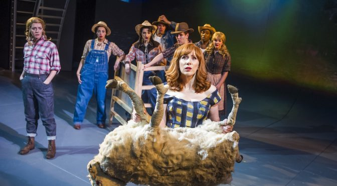 """""""Miss Atomic Bomb"""" at the St James Theatre"""