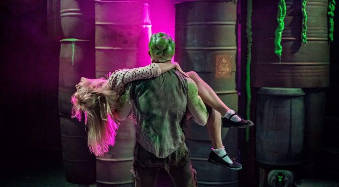 """The Toxic Avenger"" at the Southwark Playhouse"