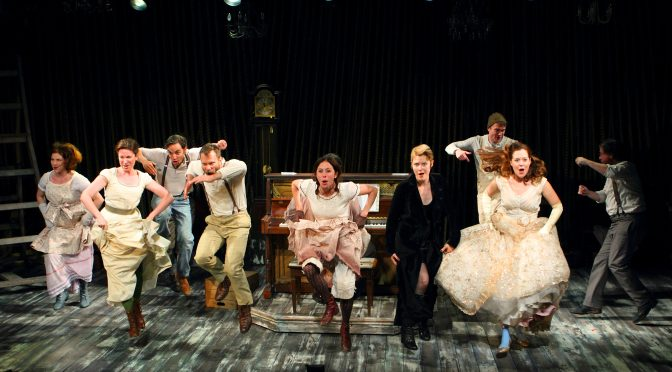 """""""Into The Woods"""" at the Menier Chocolate Factory"""