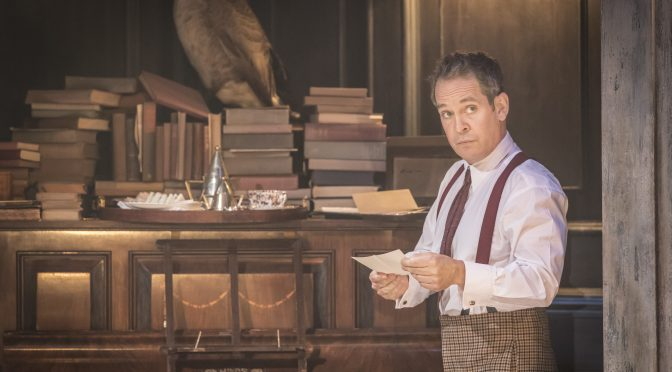 """Travesties"" at the Menier Chocolate Factory"