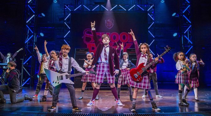 """School of Rock"" at the New London Theatre"
