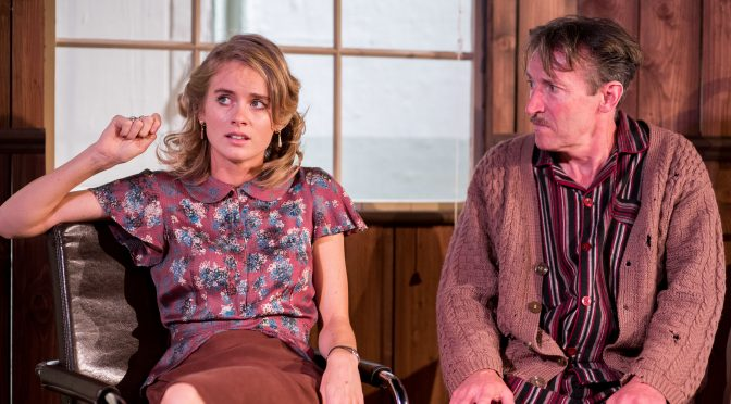 """""""Mrs Orwell"""" at the Southwark Playhouse"""