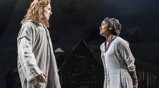 """""""Saint George and the Dragon"""" at the National Theatre"""
