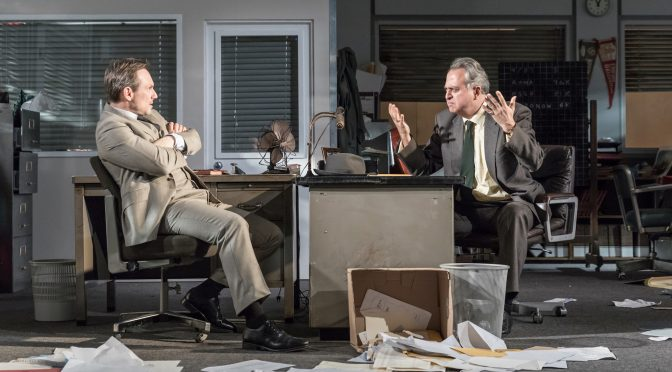 """""""Glengarry Glen Ross"""" at the Playhouse Theatre"""