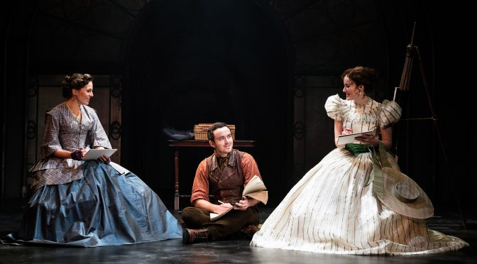 """The Woman in White"" at the Charing Cross Theatre"