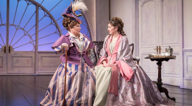 """Lady Windermere's Fan"" at the Vaudeville Theatre"
