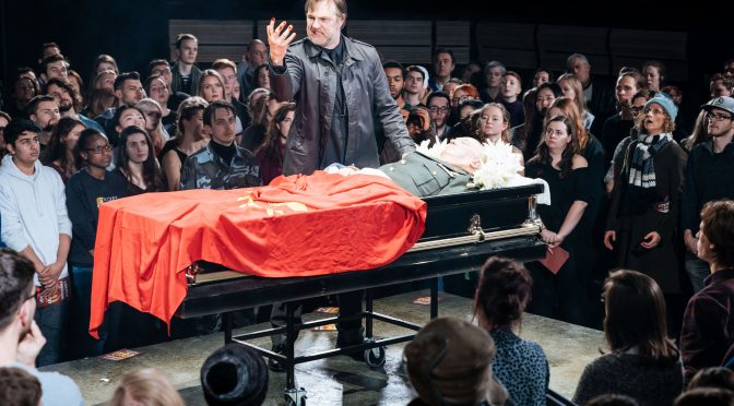 """""""Julius Caesar"""" at the Bridge Theatre"""