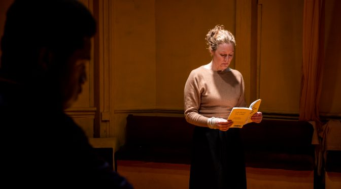 """""""Checkpoint Chana"""" at the Finborough Theatre"""
