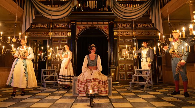 """Love's Labour's Lost"" at the Sam Wanamaker Playhouse"