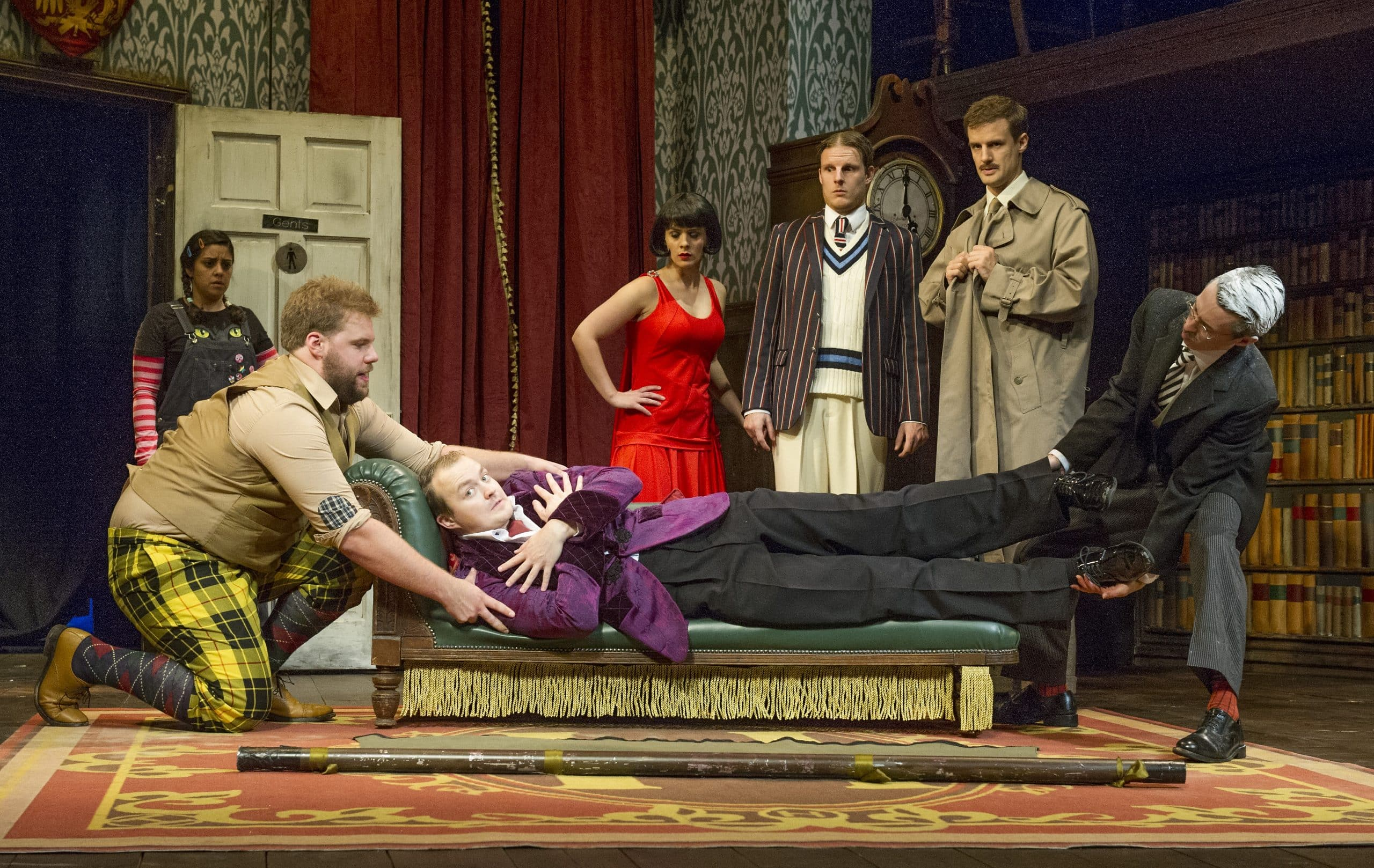 """""""The Play That Goes Wrong"""" at the Duchess Theatre"""