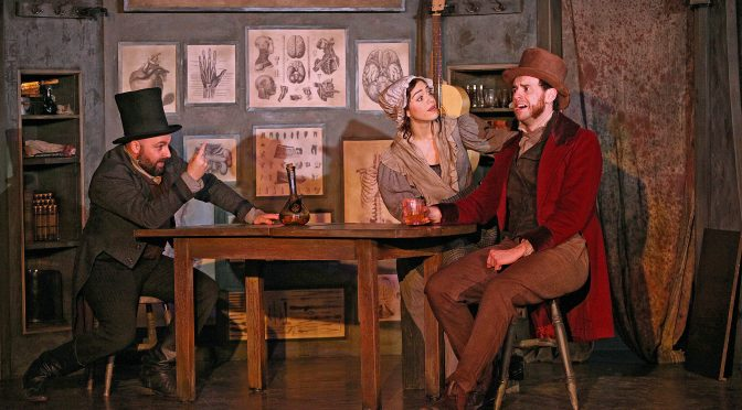 """""""Burke and Hare"""" at the Jermyn Street Theatre"""