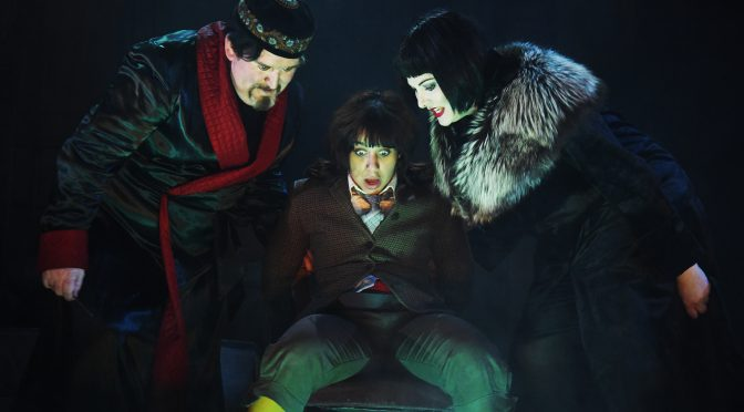 """""""The Box of Delights"""" at Wilton's Music Hall"""