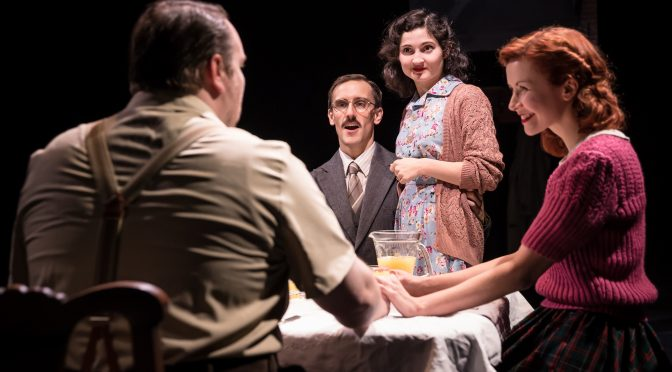 """The Rubenstein Kiss"" at the Southwark Playhouse"