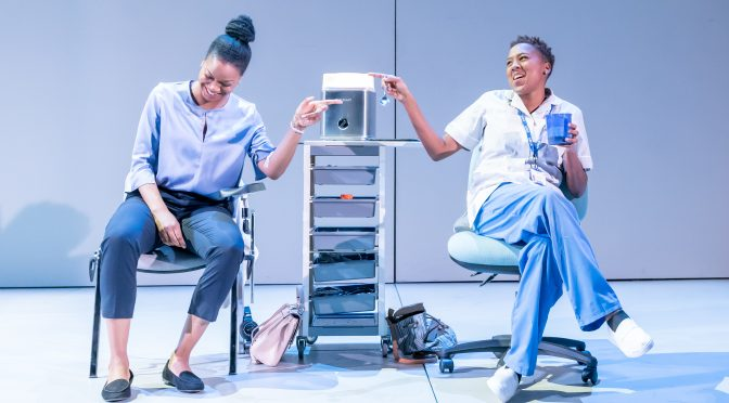 """The Phlebotomist"" at the Hampstead Theatre"