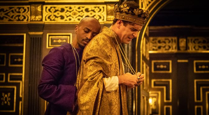 """Edward II"" at the Sam Wanamaker Playhouse"